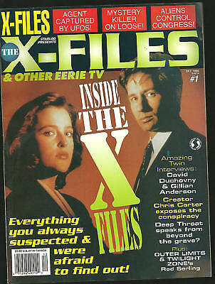 Starlog X-Files mag #1 Gillian Anderson NM Tough 1994