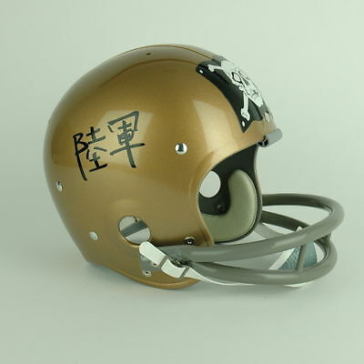 Navy Midshipmen Suspension Football Helmet History 14