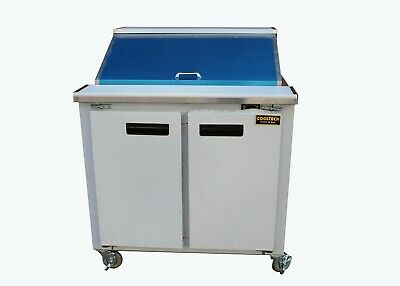 Cooltech Refrigerated 2-Door Sandwich Prep Table 36""