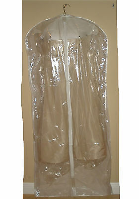 Lot of 12  Breathable Garment Bags - Gown Bag