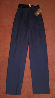 Bnwt Girls School Trousers Grey And Navy Various Sizes