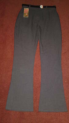 Bnwt Girls School Trousers Grey Navy Black Various Size