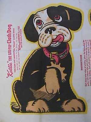"1948 Gro-Pup ""Kellie"" Cloth Dog Pattern Mail In Premium"