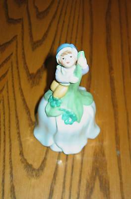 AVON 1983 Elf  Hand Bell- Porcelain- Excellent!