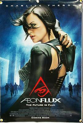 Aeon Flux Ds Rolled Orig 1Sh Movie Poster Charlize Theron Mtv Sci-Fi  (2005)