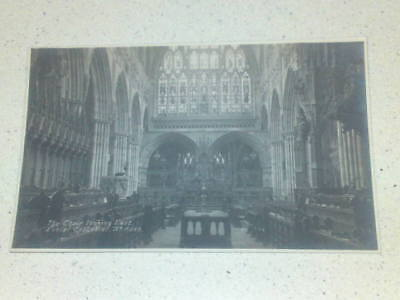 Exeter Cathedral #15 postcard