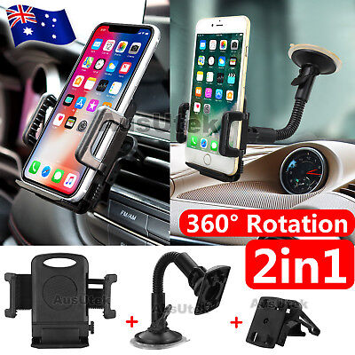 Universal Car Holder For Mobile Phone Smartphone PDA & GPS Navman TomTom Garmin
