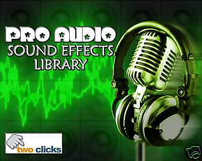 Cool Audio Sound Effects and Samples CD. Great Sounds!