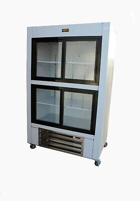 Cooltech 2-Door Refrigerated Sandwich Prep Table 60""