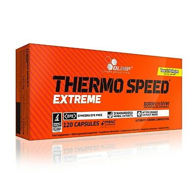 OLIMP Thermo Speed Extreme 120 Caps FAT BURNER WEIGHT LOSS SLIMMING DIET PILLS