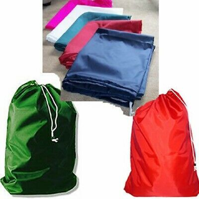 "10  Nylon Laundry Bags 30x40"" With Draw Cord & Closure"
