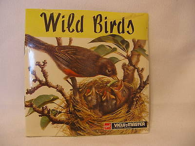 """VIEWMASTER """"WILD BIRDS"""" #B611-E SEALED"""