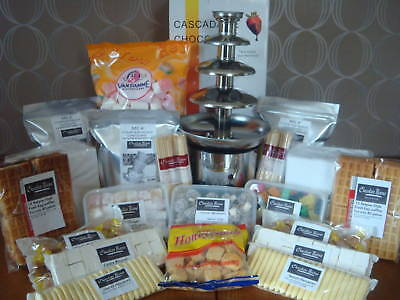Chocolate for fountain  party pack+ Fountain and dips