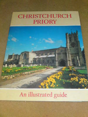 GUIDEBOOK CHRISTCHURCH PRIORY - 1985 24 pages
