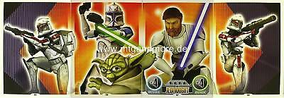 Star Wars Force Attax  Jedi Knight #125-128