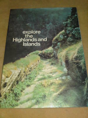 THE HIGHLANDS & ISLANDS 1977 64 pages