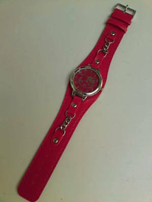 New - Hello Kitty Watch - Uk Seller - Red