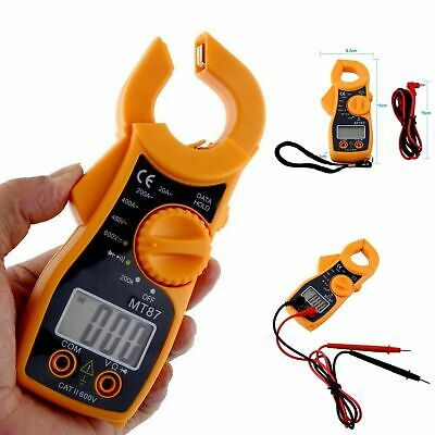 Tester digitale clamp meter digitale pinza amperometrica ohm AC/DC Tensione MT87