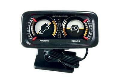 Double Incline Pitch and Roll Land Meter to Suit All Off Road Vehicles
