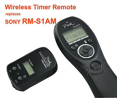 Pixel TW-282 Wireless LCD Timer Remote for Sony A850 A900 A77 A65 A55 A33 A580