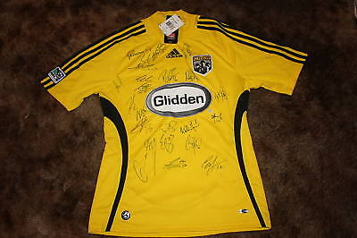 Columbus Crew Signed 2010 Adidas Soccer Jersey