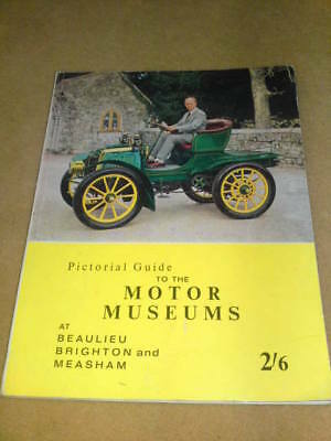 GUIDE TO MOTOR MUSEUMS 1963 112 pgs 350g