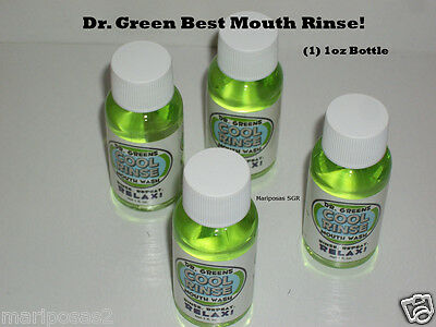 """DR. GREENS  """"MOUTH WASH"""" Absolute Best Product READ"""