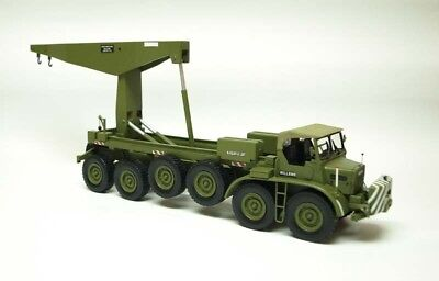 Built Resin 1:50 Willeme CG 8x4 Military version