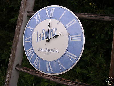 Horloge Emaillee La Source Bombee Email Traditionnel
