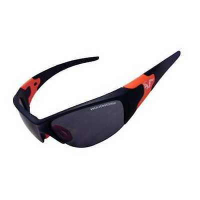 Woodworm 'Performance' Sports Sunglasses (Black/Red) Free Hard Case