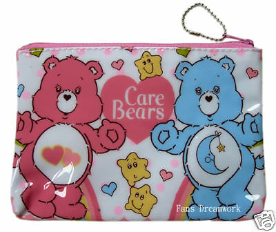 New CARE BEARS Cosmetic Bag Pencil Case