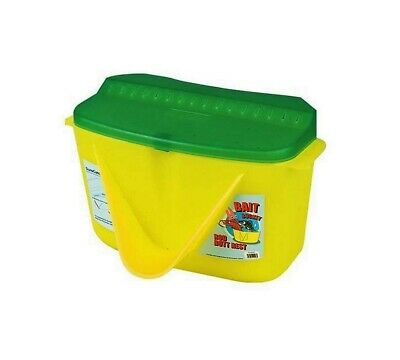 New Bait Bucket With Rod Butt Rest & And Accessories Shelf