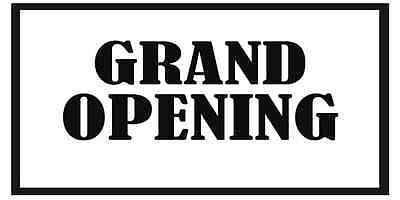 Grand Opening d Business Banners 2x4