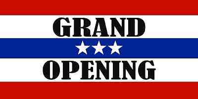 Grand Opening g Business Banners 2x4