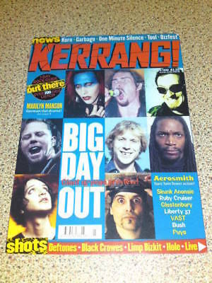 Kerrang Postcard #1 Unused