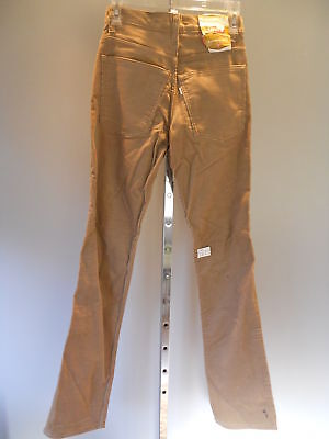 Nos Vintage 1970s Deadstock Levis Corduroy Pants Trousers Slacks Retro Mods 28