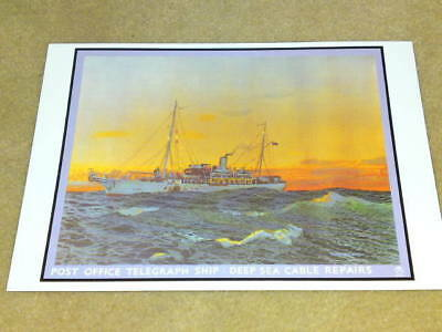 Postcard - Unused - Telegraph Ship