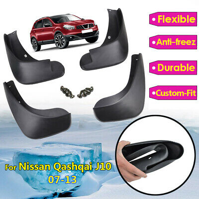 Mud Flaps Splash Guards Suit for Nissan Qashqai Dualis / +2 2007-2013 J10 Set