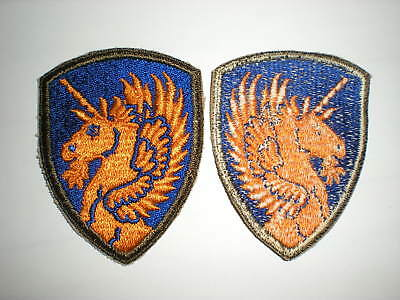 Original Wwii Us Army 13Th Airborne Division Unit Patch
