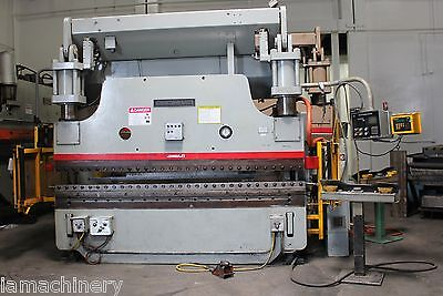 175 Ton x 10' Cincinnati CNC Hydraulic Press Brake Model: 175ASX8 S/N: 45151