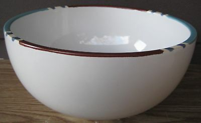 Dansk Mesa White Sand Med Round Mixing Vegetable Bowl