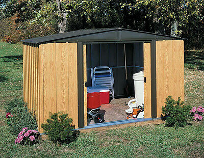 Arrow woodlake 10 x 8 outdoor storage shed youtube