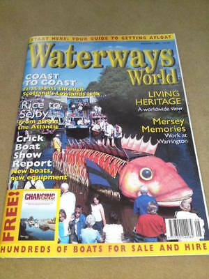 WATERWAYS WORLD - RICE TO SELBY Aug 2001 Vol 30 No 8