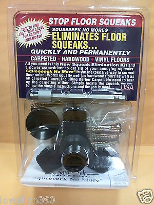Squeeeeek No More KIT #3233 Eliminates Floor Squeak  NEW!
