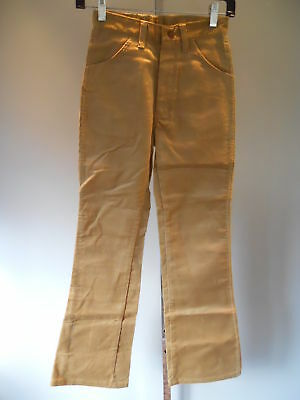 Nos 1970s Vintage Wrangler Boot Jean Corduroy Pants Trousers Slacks Boys 14 SLiM