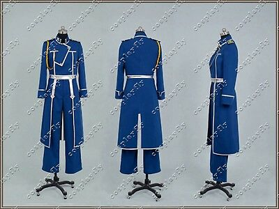 FullMetal Alchemist Cosplay Roy Uniform Costume