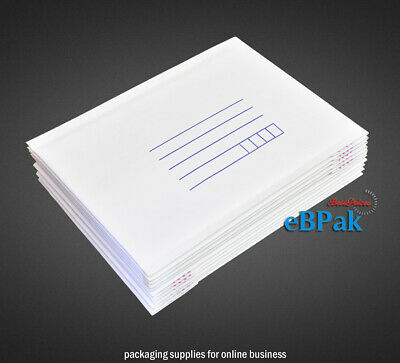 Bubble Padded Bag Mailer #02 215X280mm White Printed Cushioned Envelope x 400