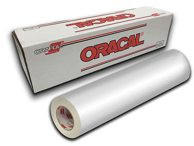 "24"" X 10yd - White Gloss Oracal 651 Intermediate Graphic & Sign Cutting Vinyl"
