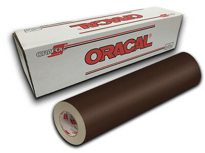 "24"" X 10yd - Brown Oracal 651 Intermediate Graphic & Sign Cutting Vinyl"