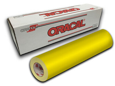 "24"" X 10yd - Brimstone Yellow Oracal 651 Intermediate Sign Cutting Vinyl"
